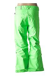 Pantalon casual vert VOLCOM pour femme seconde vue