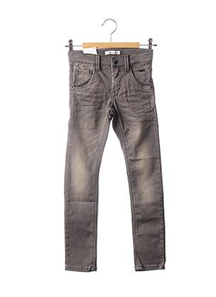 Jeans coupe slim gris NAME IT pour enfant
