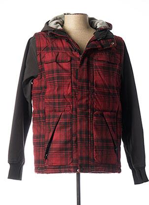 Manteau court rouge DCSHOECOUSA pour homme