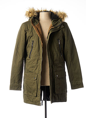Parka vert ONLY&SONS pour homme