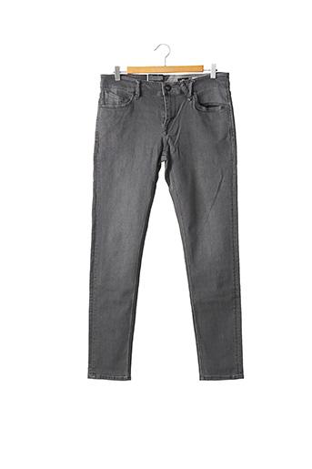 Jeans skinny gris VOLCOM pour homme