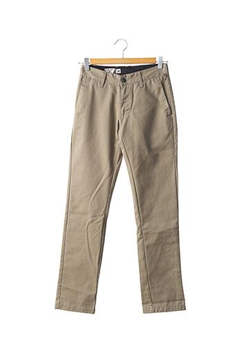 Pantalon casual beige VOLCOM pour homme