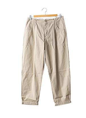 Pantalon casual beige CARHARTT pour homme