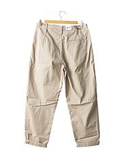 Pantalon casual beige CARHARTT pour homme seconde vue