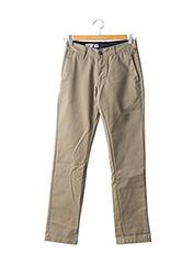 Pantalon casual beige VOLCOM pour homme seconde vue