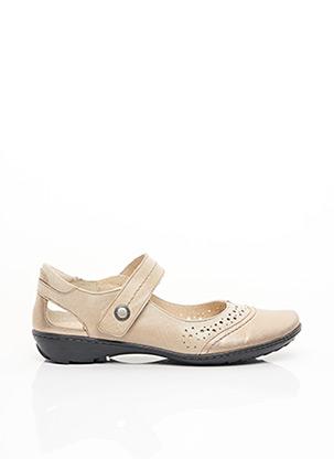 Chaussures de confort beige GEO-REINO pour femme