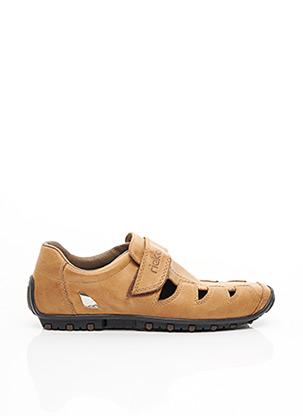 Sandales/Nu pieds marron RIEKER pour homme