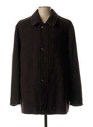 Manteau long marron JUPITER pour homme