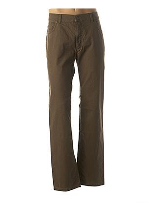 Pantalon casual marron PIONEER pour homme