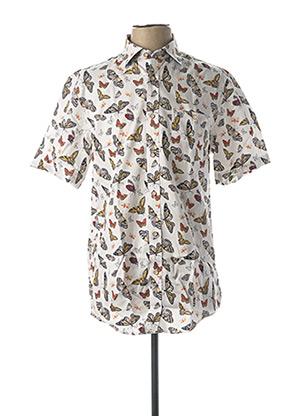T-shirt manches courtes blanc FELLOWS pour homme