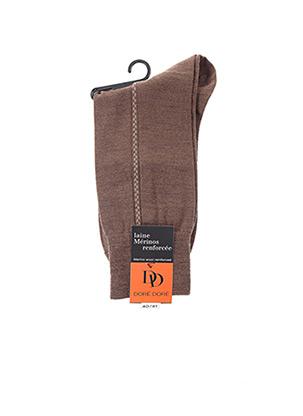 Chaussettes marron DORE DORE pour homme