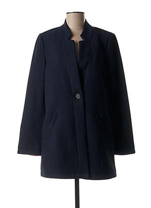 Manteau long bleu STREET ONE pour femme