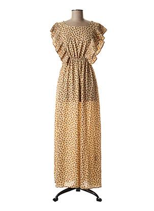 Robe longue beige MOLLY BRACKEN pour femme