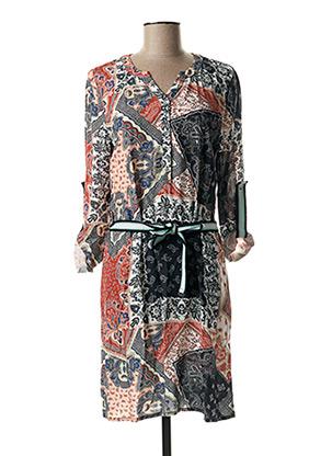 Robe mi-longue bleu ET COMPAGNIE pour femme