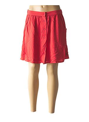 Jupe courte rouge FREEMAN T.PORTER pour femme