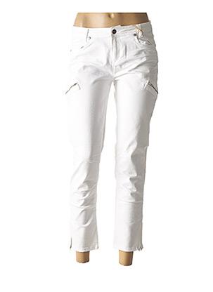 Pantalon 7/8 blanc ET COMPAGNIE pour femme