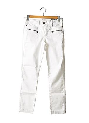 Pantalon 7/8 blanc STREET ONE pour femme