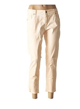 Pantalon 7/8 orange ET COMPAGNIE pour femme