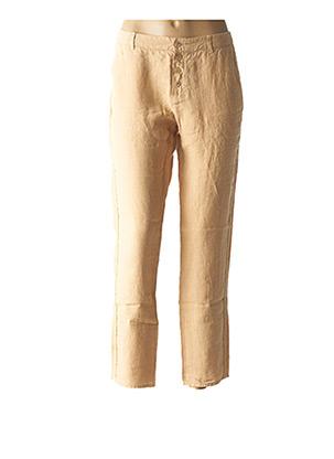 Pantalon chic beige ONE STEP pour femme