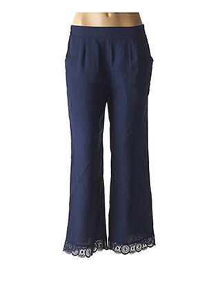 Pantalon chic bleu MOLLY BRACKEN pour femme