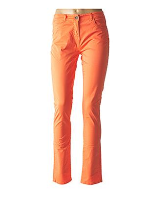 Pantalon casual orange SO SOON pour femme