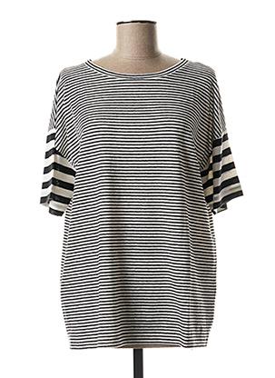 T-shirt manches courtes noir MAXMARA pour femme