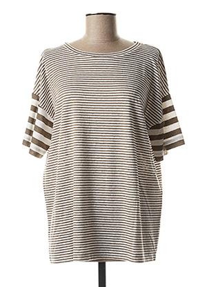 T-shirt manches courtes vert MAXMARA pour femme