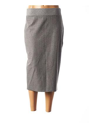 Jupe mi-longue gris PESERICO pour femme