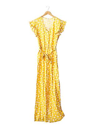 Combi-pantalon jaune TIFFOSI pour femme