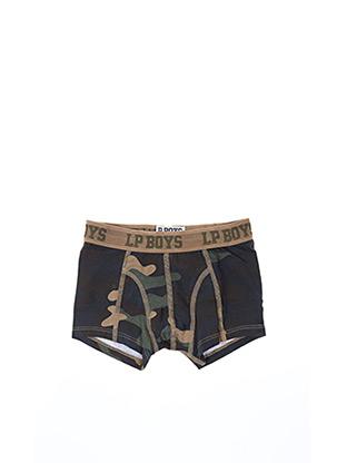 Shorty/Boxer marron PIECES pour garçon
