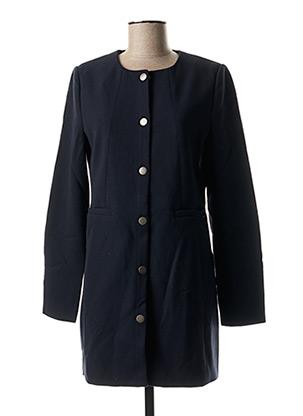 Manteau long bleu B.YOUNG pour femme