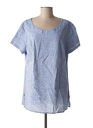 Blouse manches courtes bleu CECIL pour femme