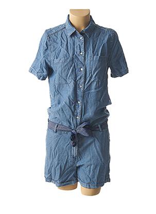 Combishort bleu ONLY pour femme