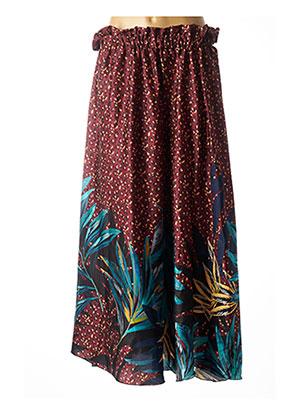 Jupe longue rouge JOHANNA PARIS pour femme