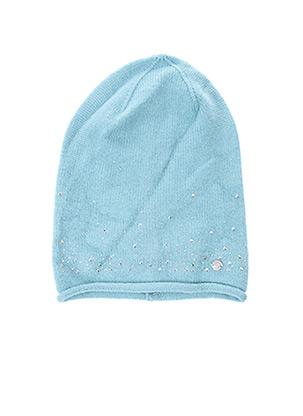 Bonnet bleu CECIL pour femme
