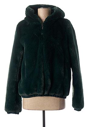 Manteau court vert TRENCH & COAT pour femme