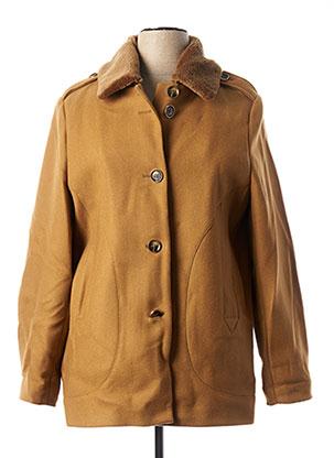 Manteau long marron TRENCH & COAT pour femme