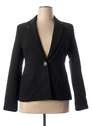 Veste chic / Blazer noir TRENCH & COAT pour femme
