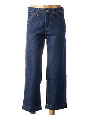 Jeans coupe large bleu LEE pour femme