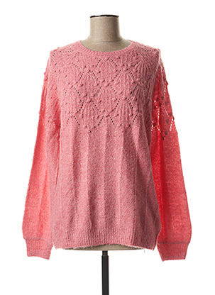 Pull col rond rose WHITE STUFF pour femme