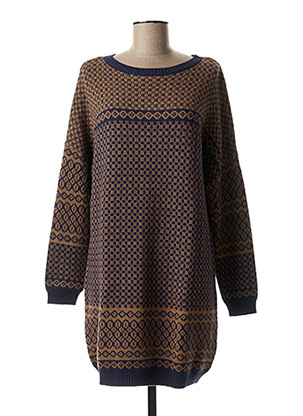 Robe pull marron THOUGHT pour femme