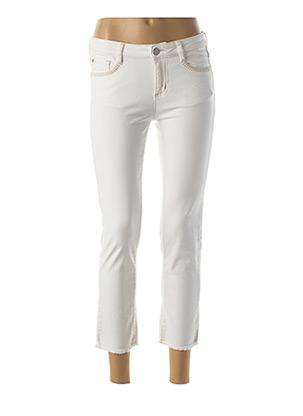 Pantalon 7/8 blanc RIVER WOODS pour femme