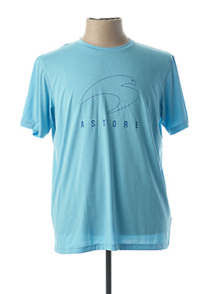 T-shirt manches courtes bleu ASTORE pour homme