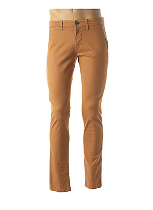 Pantalon chic marron PEPE JEANS pour homme