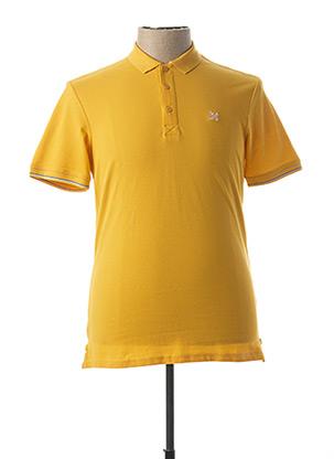 Polo manches courtes jaune OXBOW pour homme