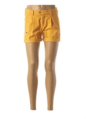 Short jaune OXBOW pour femme