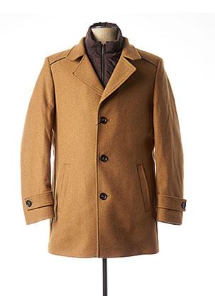 Manteau court marron FYNCH-HATTON pour homme