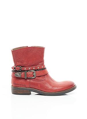 Bottines/Boots rouge ROMAGNOLI pour fille