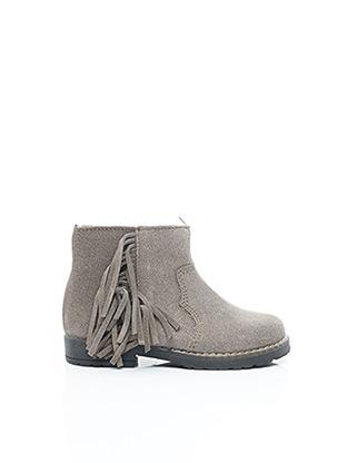 Bottines/Boots gris ACEBOS pour fille