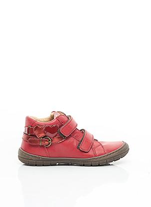 Bottines/Boots rouge FRANCO ROMAGNOLI pour fille